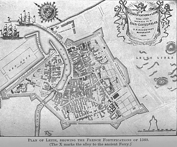Leith Scotland Map.The Story Of Leith Xxii The Siege Of Leith
