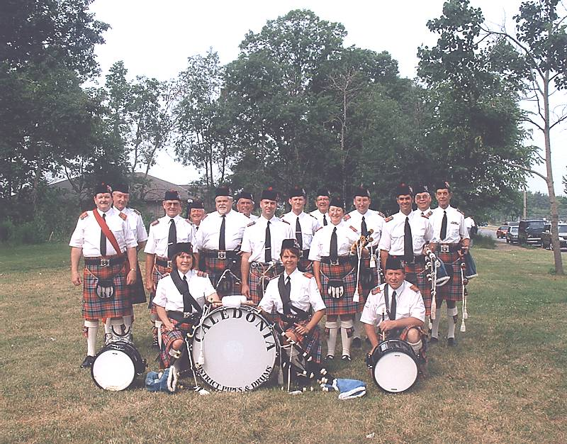 The Caledonia District Pipes And Drums