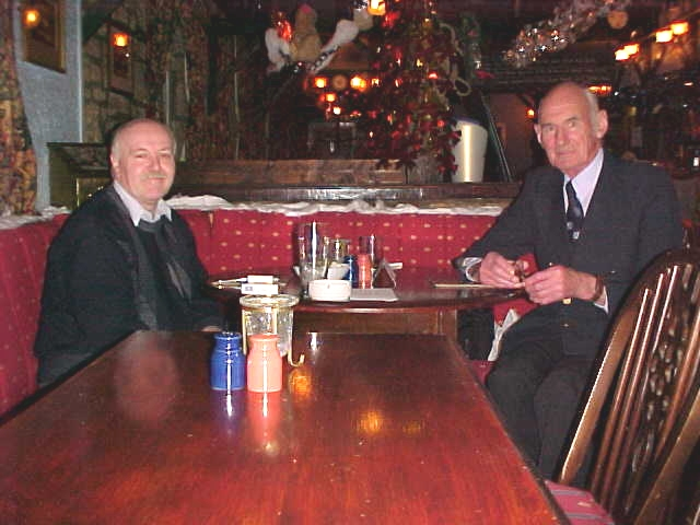 Myself and Ranald McIntyre, Christmas 2002