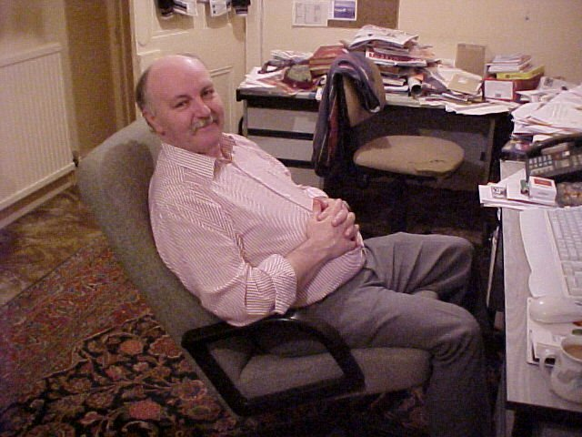 And here is me in my messy office in 2001