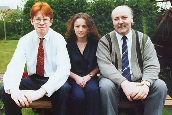 Craig Dunn, Vickie Mather and Alastair McIntyre