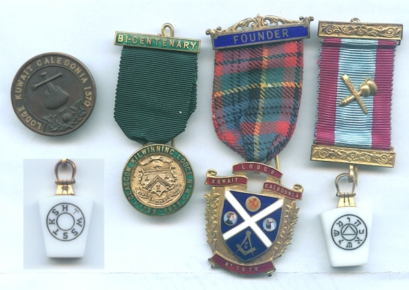 My Father was in the Masons and these were some of his Masonic medals