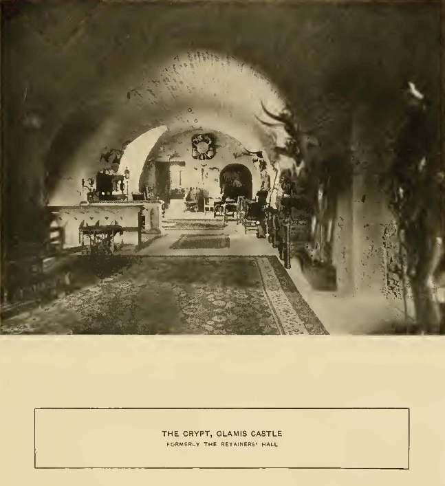 glamis castle secret room