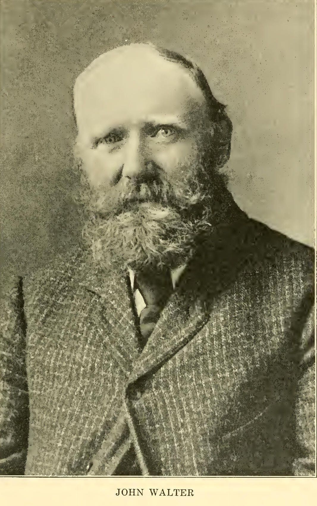 <b>John Walter</b> was born at Stenness, in the Orkney Islands, August 12, 1849, ... - john_w4