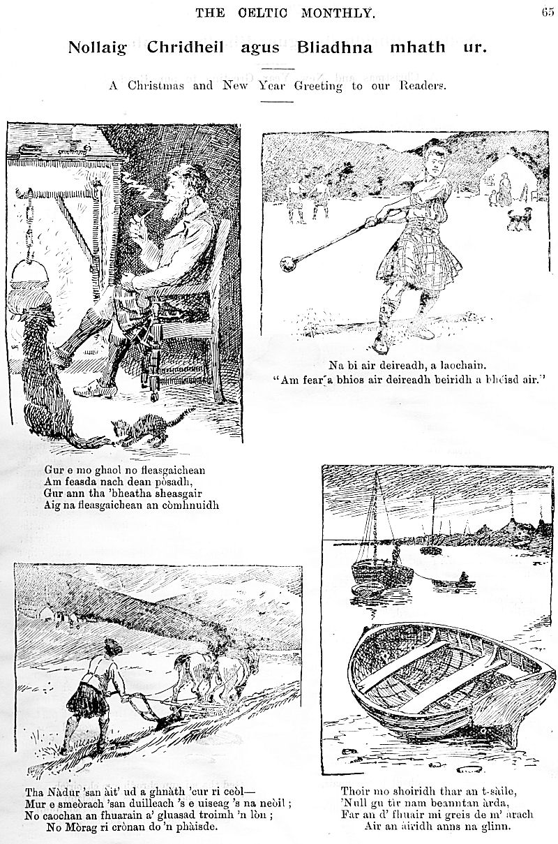 The Celtic Monthly A Magazine For Highlanders