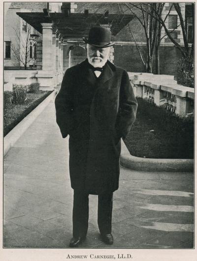 Andrew Carnegie, LL D