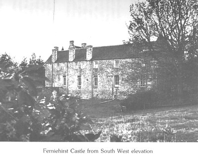 Ferniehirst Castle from South West elevation