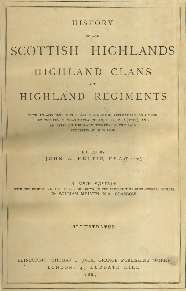 History of the Scottish Highlands, Highland Clans and