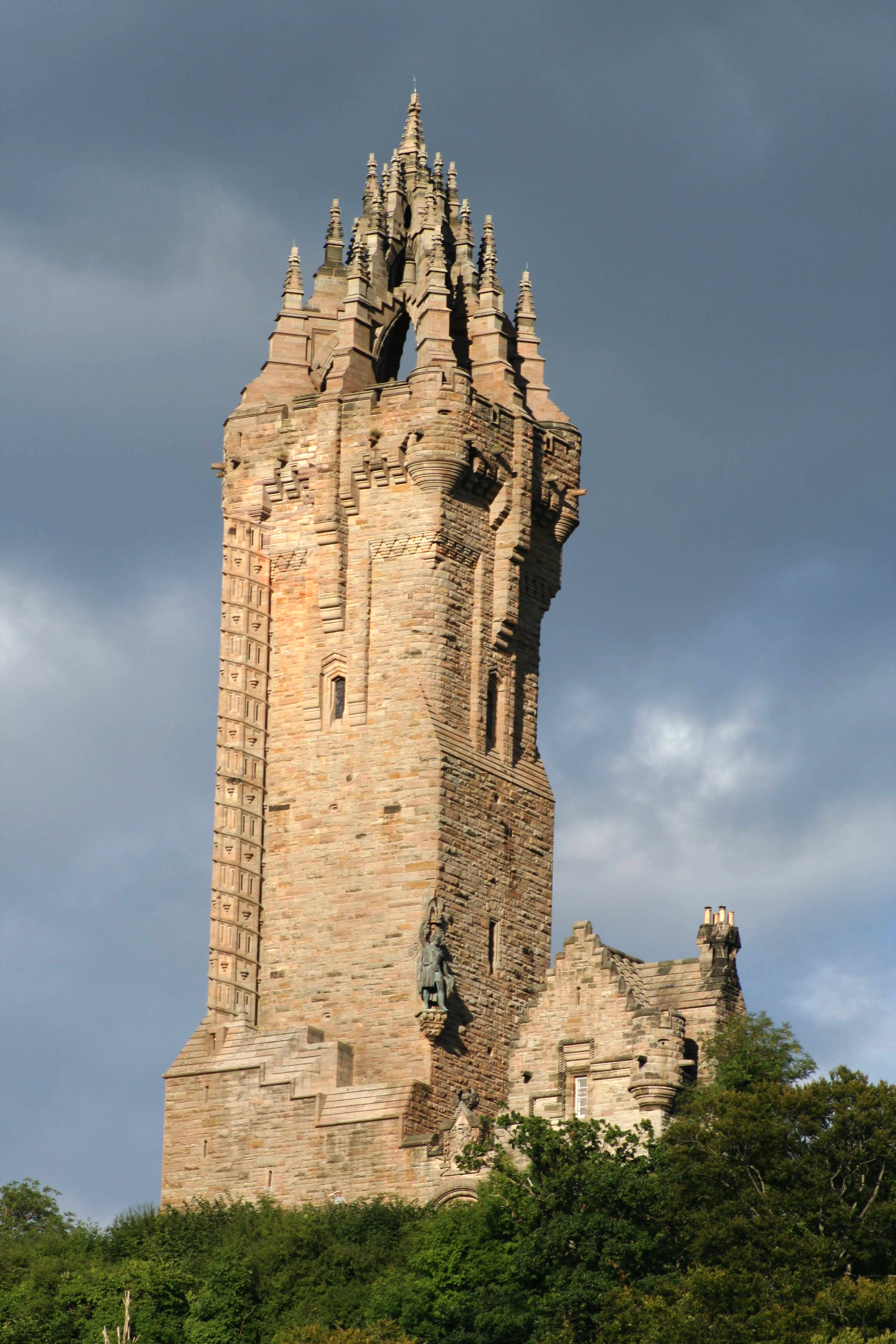 The Wallace Monument at Bemersyde near Dryburgh