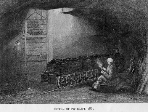 Industries Of Scotland Coal Mining