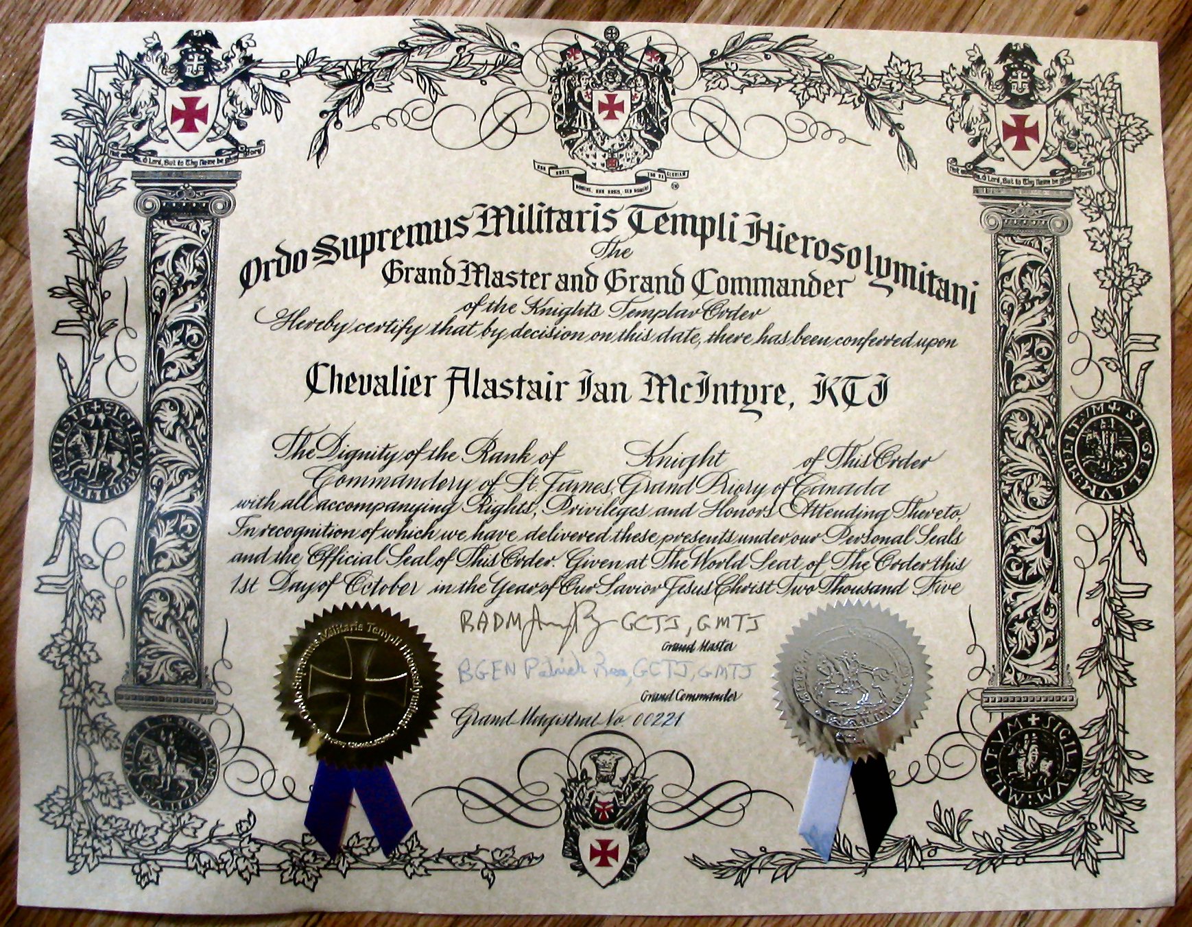 certificate of masonic studies application