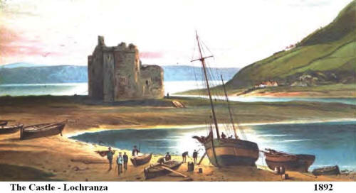 Castle of Loch Ranza