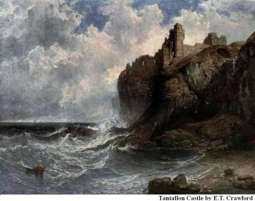 Tantallon Castle By E. T. Crawford