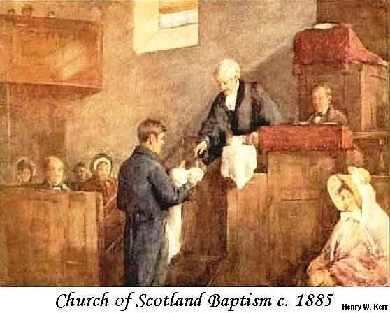 Scottish Baptism