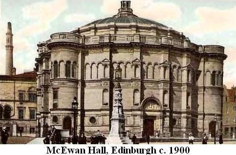 McEwan Hall, Edinburgh