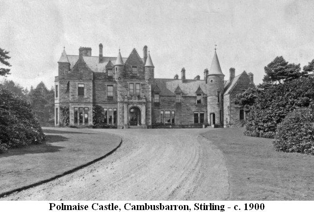 Polmaise Castle, Stirling