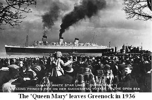 Queen Mary, Greenock