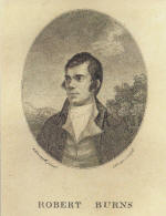 Burns Postcard
