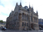 Inverness Town Hall and Mercat Cross