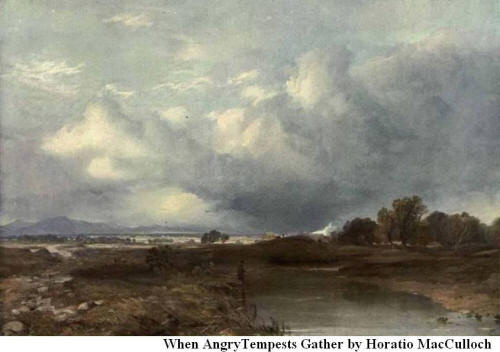 When Angry Tempests Gather By Horatio MacCulloch