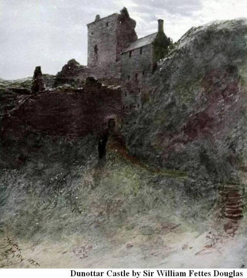 Dunnottar Castle By Sir William Fettes Douglas