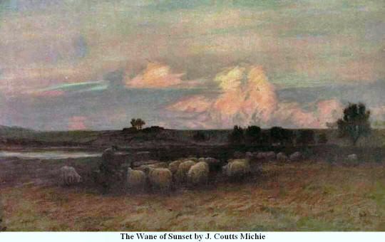 The Wane of Sunset. By J. Coutts Michie
