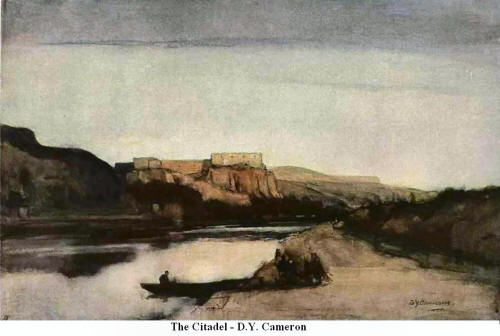 The Citadel. By D. Y. Cameron
