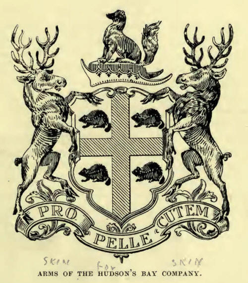 Arms of Hudson's Bay Company
