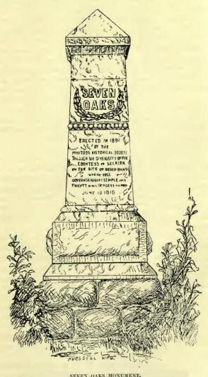 Seven Oaks Monument