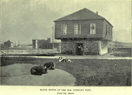 Block House of old H.B. Company Post
