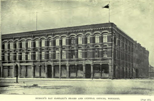 Hudson's Bay Company Warehouse and Offices in Winnipeg