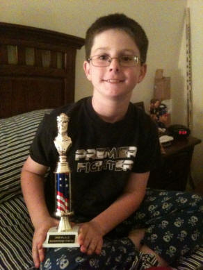 Ian won 2nd place in chess today during the chess tournament.