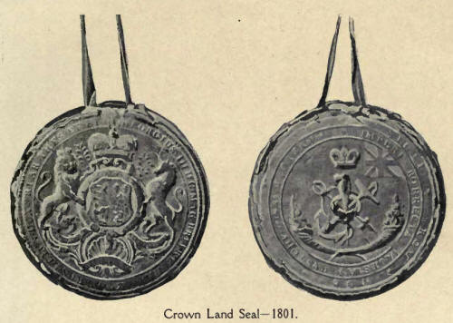Crown Land Seal 1801