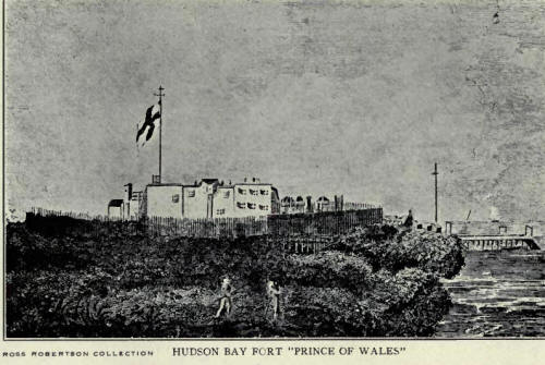 Hudson Bay Fort, Prince of Wales