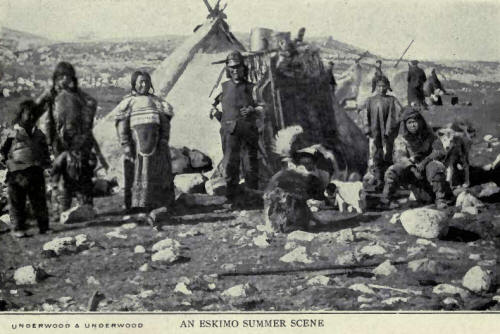 An Eskimo Summer Camp
