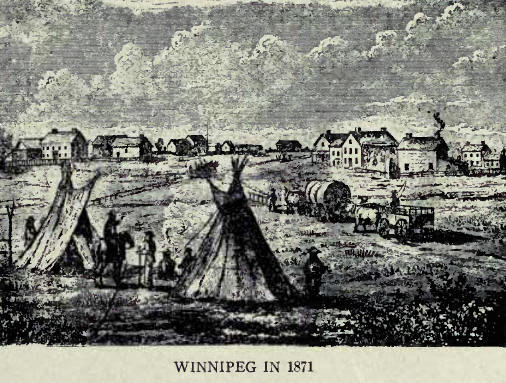 Winnipeg in 1871