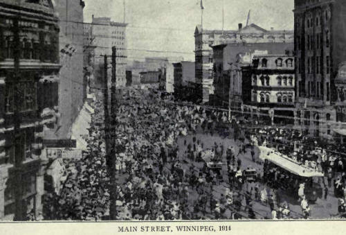 Main Street, Winnipeg, 1914