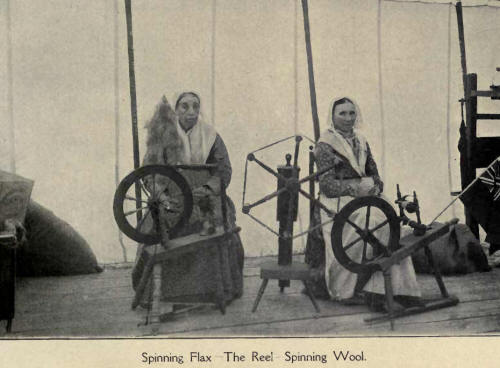 Spinning Flax
