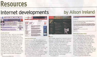 Wee review in Information World Nov. 2001