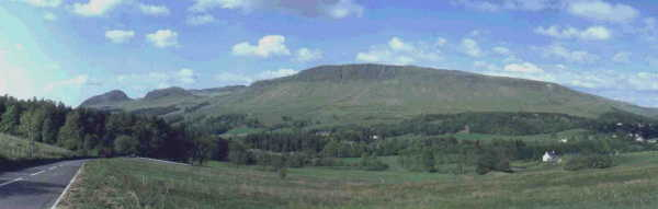 Campsie Hills with villages of Strathblane & Blanefield.Links with Clan Graham, Clan MacKinlay & the Edmonstone family.