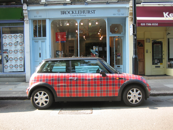 be classified as_Tartan can be fun