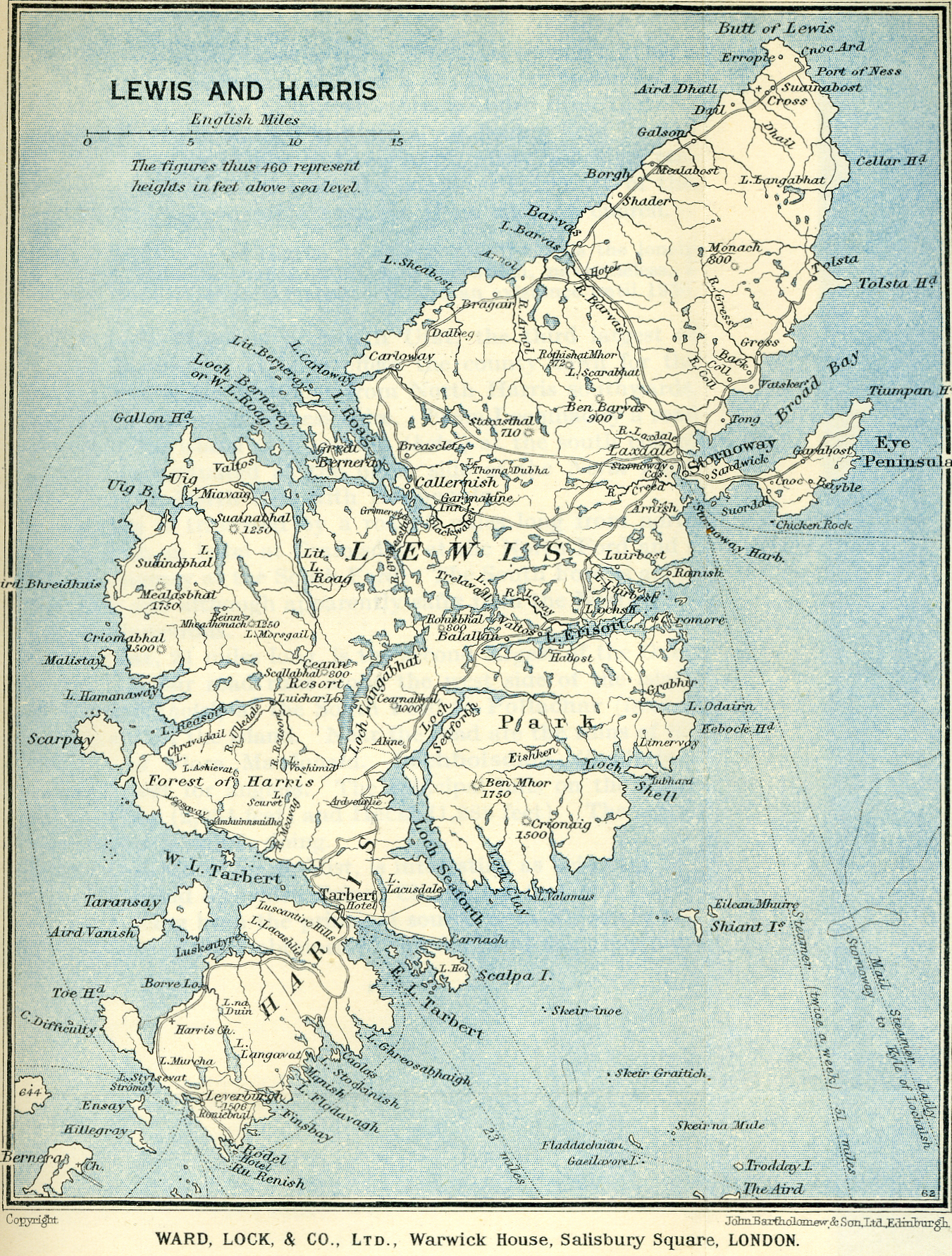 The Northern Highlands and the Western Isles Sights