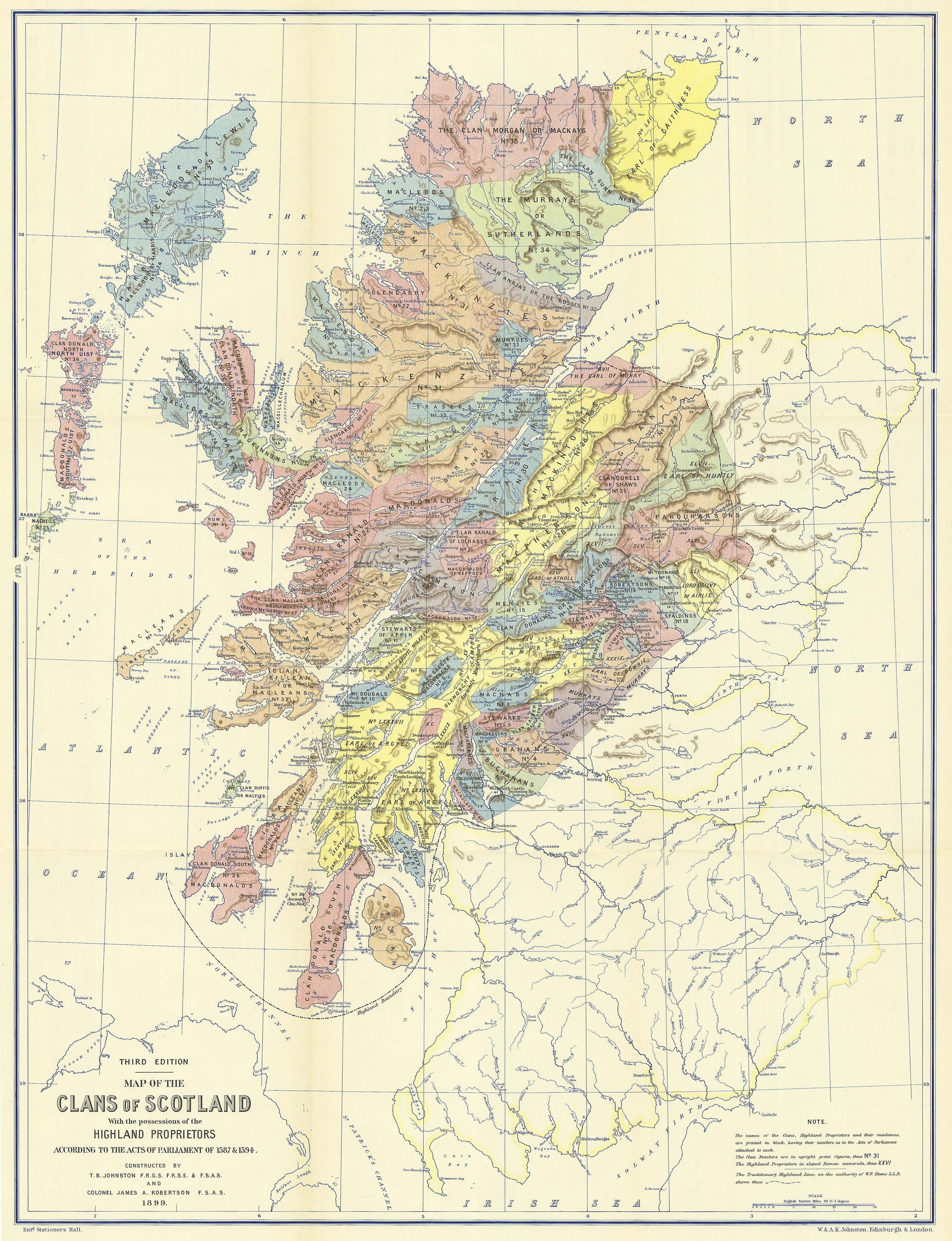 Electric Scotland guide to Scottish and Irish clans  families  tartans and history of the Gaels