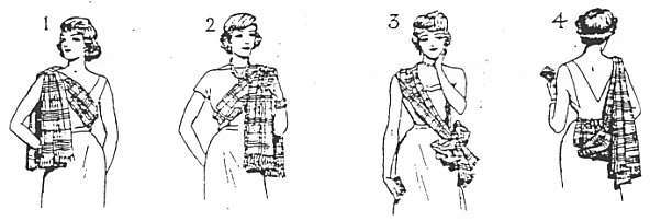 Wearing of Sashes by Ladies in Evening Dress 35b0fd45c