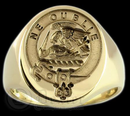 Graham Family Crest Ring